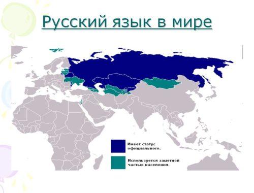 В каких странах говорят на русском языке