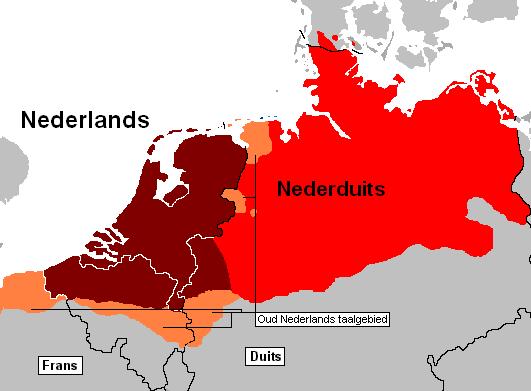 В каких странах говорят на нидерландском языке