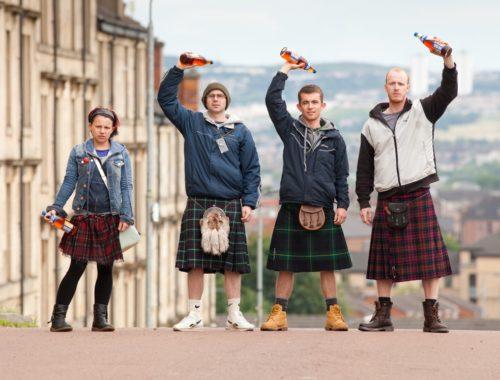 На каком языке говорят в Шотландии
