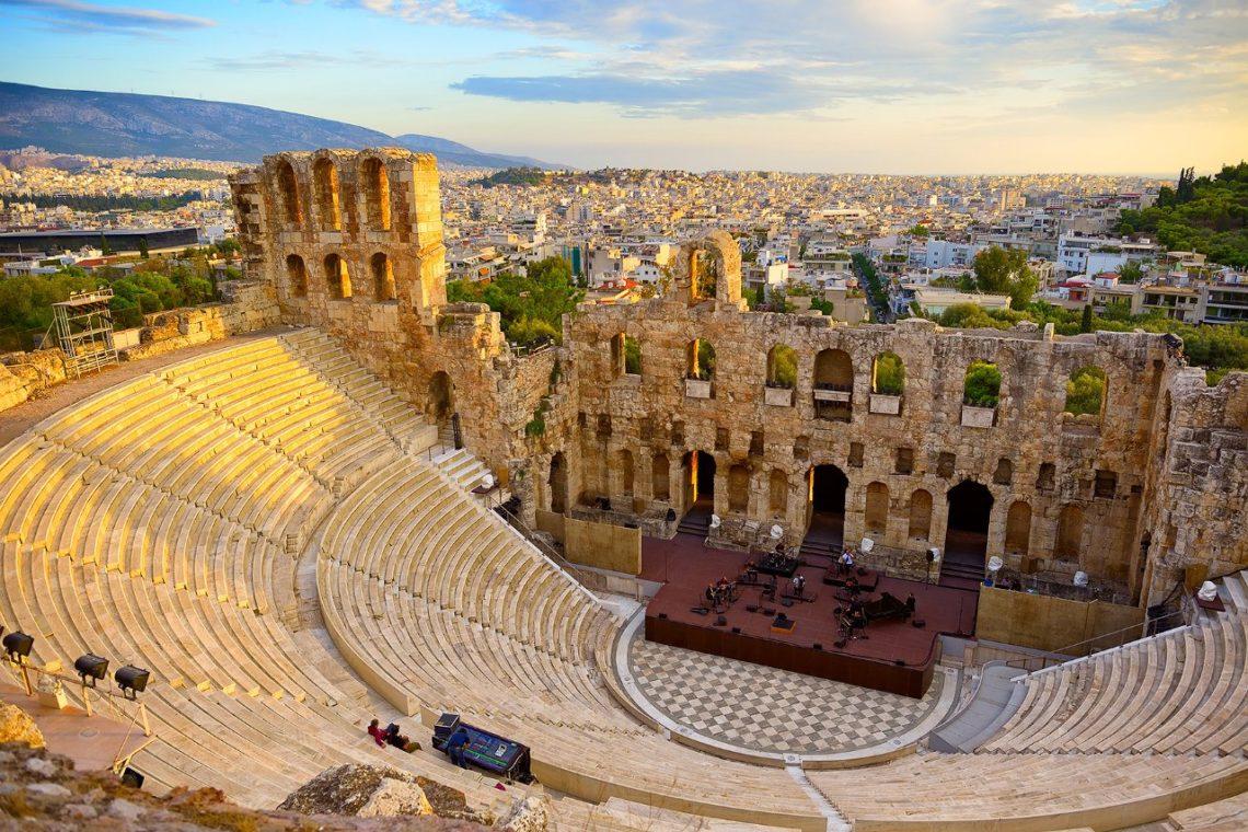 На каком языке говорят в Афинах