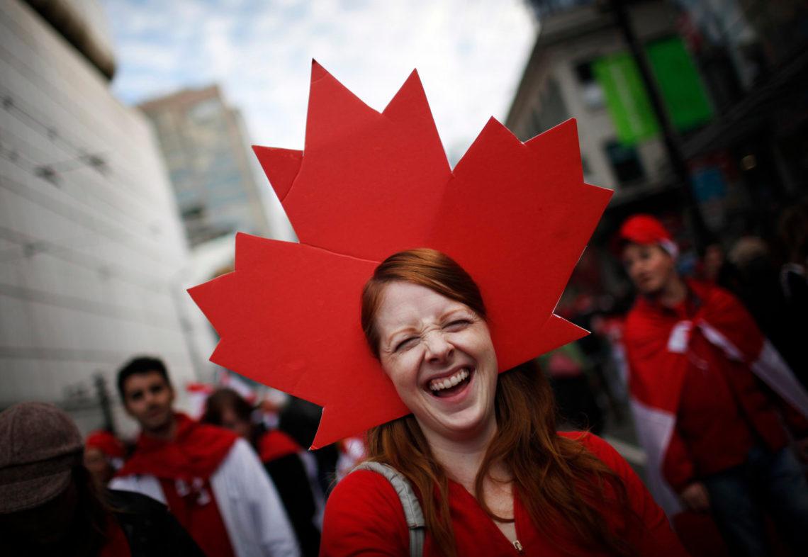 На каком языке говорят канадцы