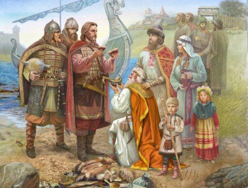 племена говорили на славянском языке