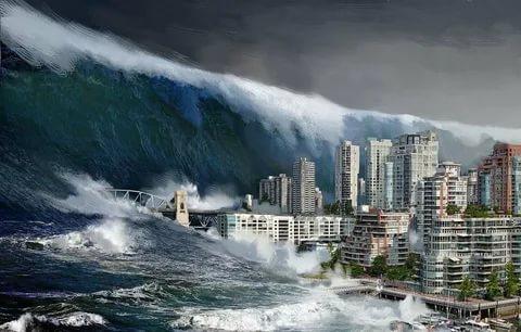 Из какого языка слово цунами