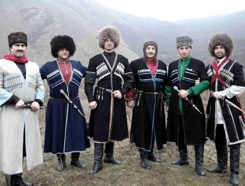 языке говорят на Кавказе