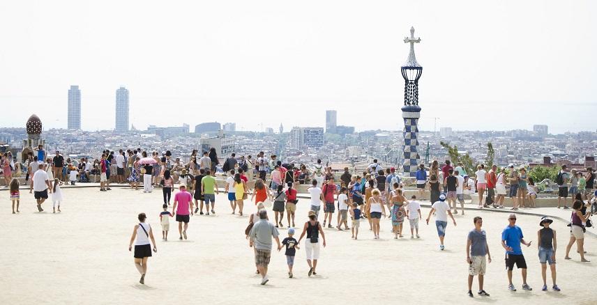 каталония туристы