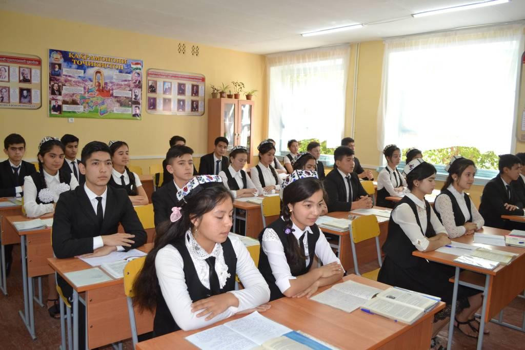школа в таджикистане