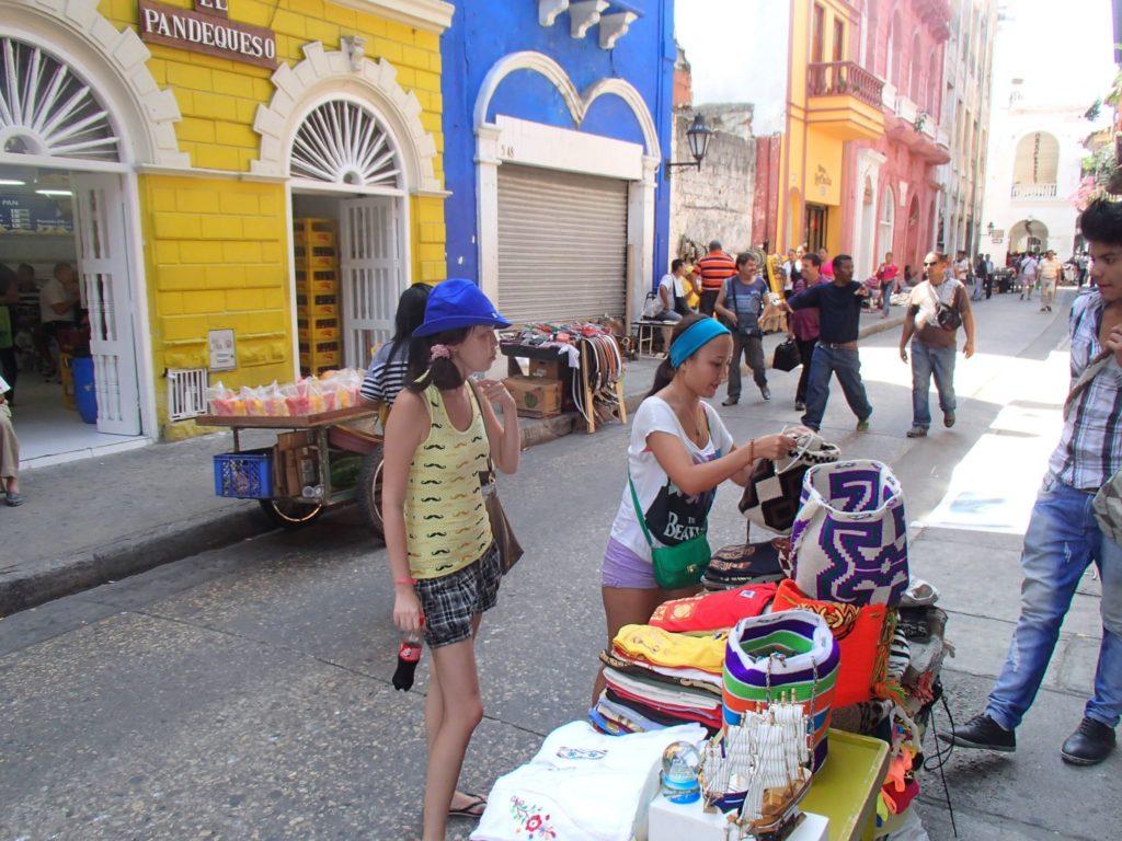 Колумбия туристы