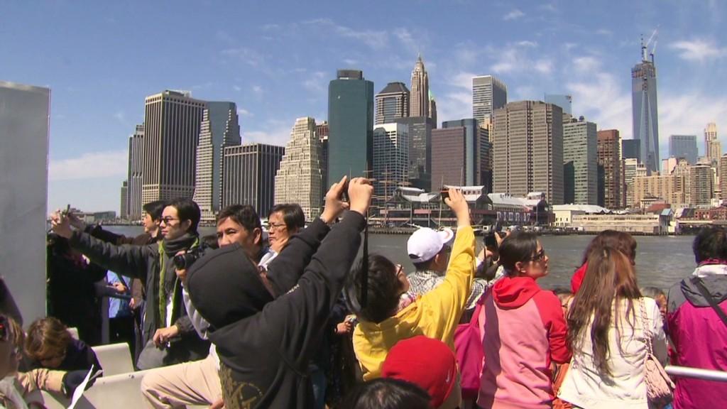 Нью-йорк туристы