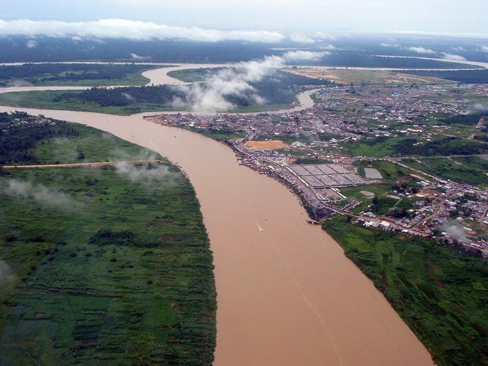 река Нигерия